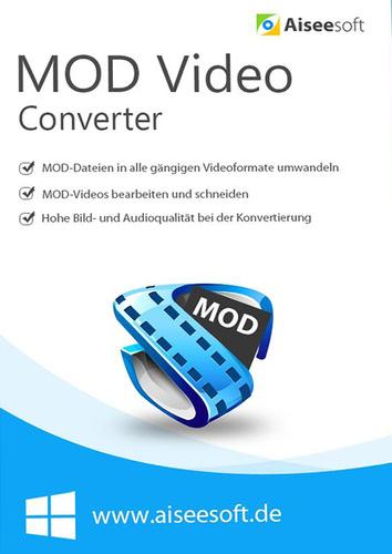 Verpackung von Aiseesoft MOD Converter für PC [PC-Software]