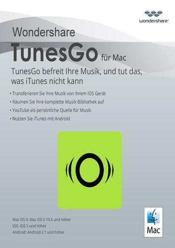 Verpackung von Wondershare TunesGo (Mac) - Android Geräte [Mac-Software]