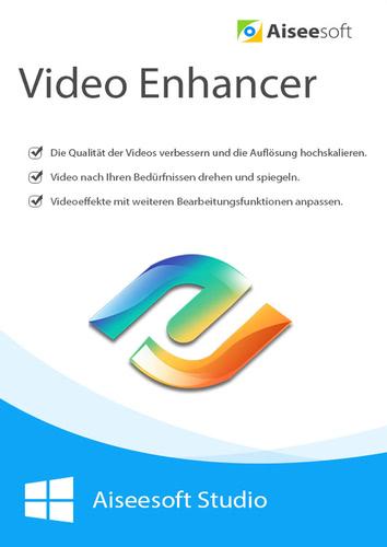 Verpackung von Aiseesoft Video Enhancer - Lebenslange Lizenz [PC-Software]