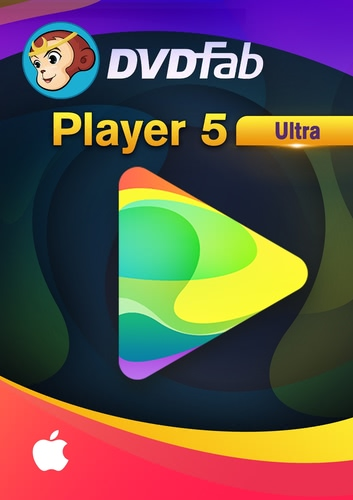 DVDFab Player 5 Ultra für MAC – 24 MonateUltra (Download), MAC
