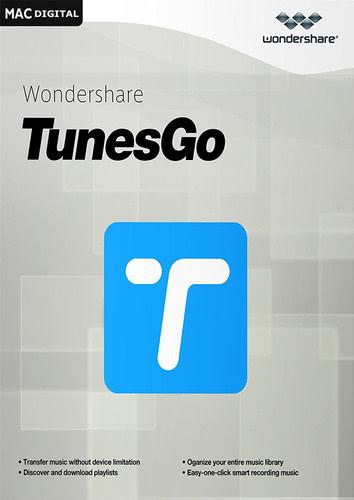 Verpackung von Wondershare TunesGo (Mac) - iOS Geräte [Mac-Software]
