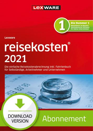 Verpackung von Lexware reisekosten 2021 - Abo Version [PC-Software]