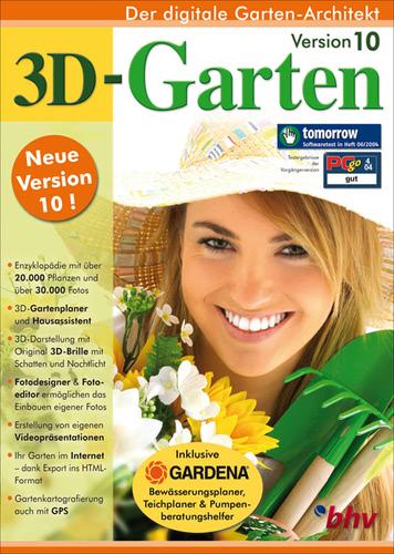 Verpackung von 3D-Garten 10 [PC-Software]