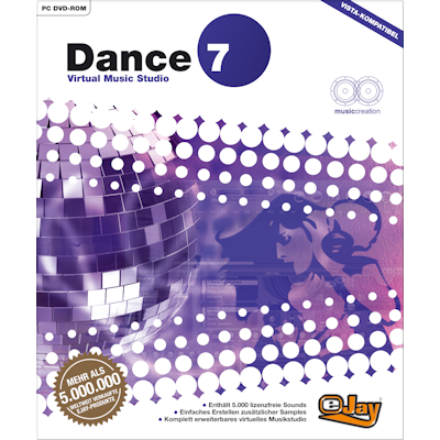 Verpackung von eJay Dance 7 [PC-Software]