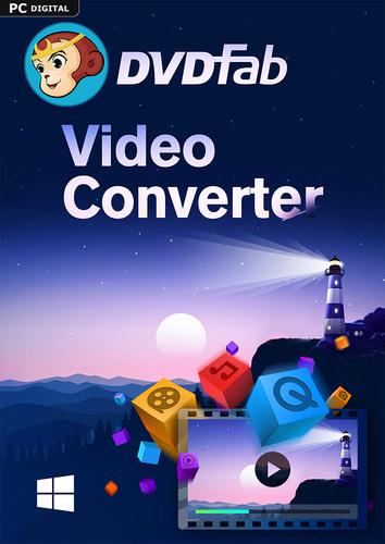 Verpackung von DVDFab Video Converter (1 User / 2 Jahre) PC [PC-Software]