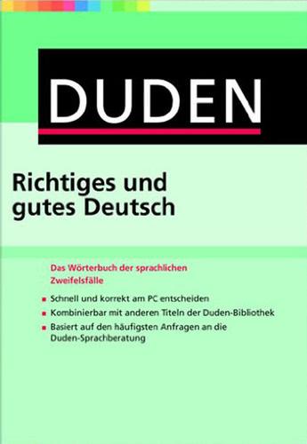 Verpackung von Duden Richtiges und gutes Deutsch 9 (PC) für PC [PC-Software]