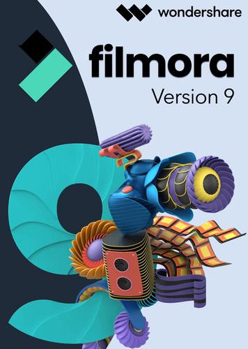 Verpackung von Wondershare Filmora Video Editor 9 für Mac - lebenslange Lizenz [Mac-Software]