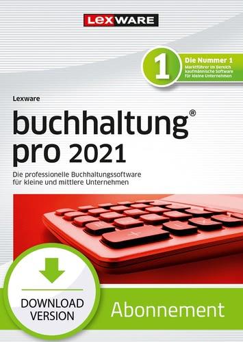 Verpackung von Lexware buchhaltung pro 2021 - Abo Version [PC-Software]