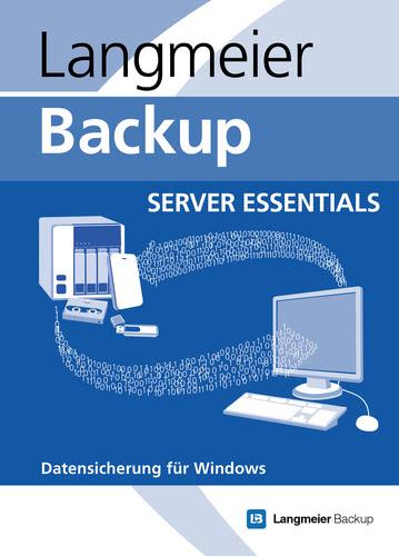 Verpackung von Langmeier Backup 10 Server Essentials [PC-Software]