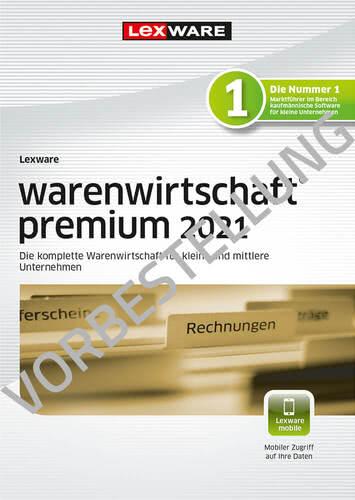 Verpackung von Lexware warenwirtschaft premium 2022 – Jahresversion (365 Tage) - Vorbestellung [PC-Software]