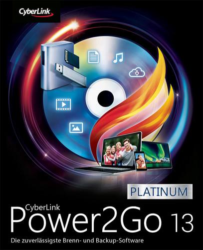 Verpackung von Cyberlink Power2Go 13 Platinum [PC-Software]