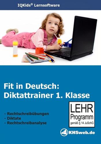 Verpackung von Fit in Deutsch: Diktattrainer - 1. Klasse [PC-Software]