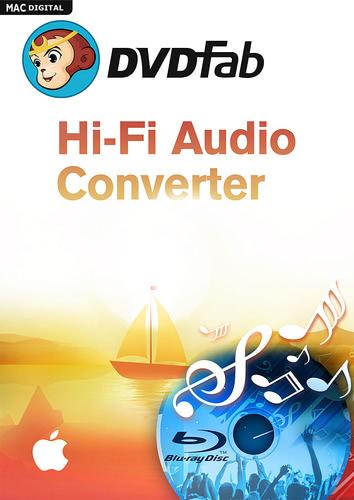 Verpackung von DVDFab Hi-Fi Audio Converter (1 User / 2 Jahre) Mac [Mac-Software]