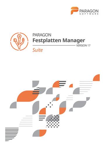 Verpackung von Paragon Festplatten Manager 17 Suite [PC-Software]