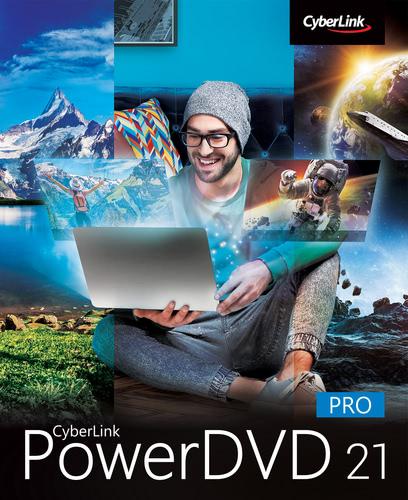 Verpackung von CyberLink PowerDVD 21 Pro [PC-Software]
