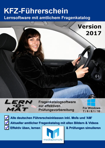 Verpackung von Lern-o-Mat KFZ-Führerschein 2017 [PC-Software]