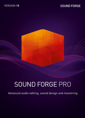 Verpackung von Sound Forge Pro 15 [PC-Software]