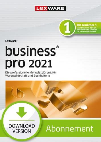 Verpackung von Lexware business pro 2021 - Abo Version [PC-Software]