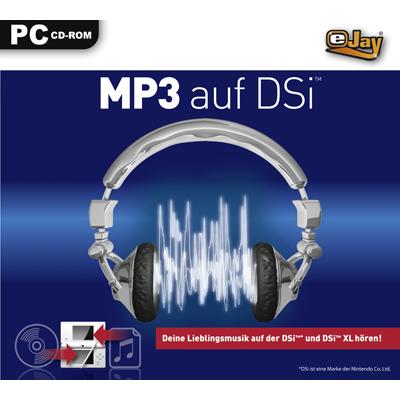 Verpackung von eJay MP3 auf DSi [PC-Software]