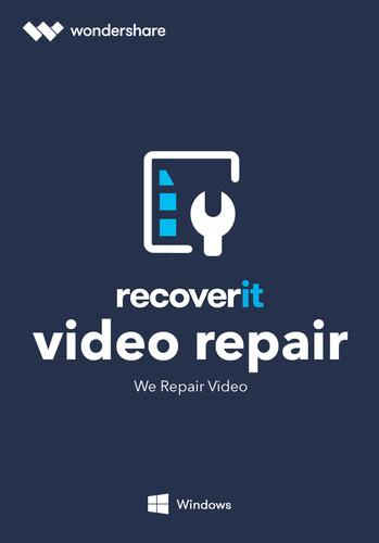 Verpackung von Wondershare Recoverit Video Repair Tool [PC-Software]