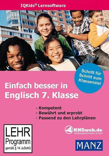 Verpackung von Einfach besser lernen - Fit in Englisch Lernprogramm 7. Klasse [PC-Software]