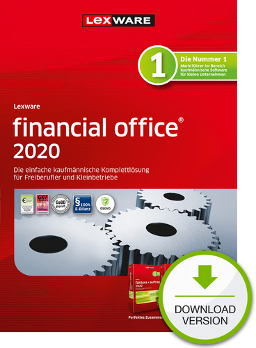 Lexware financial office 2020 – Jahresversion (365-Tage) (Download), PC