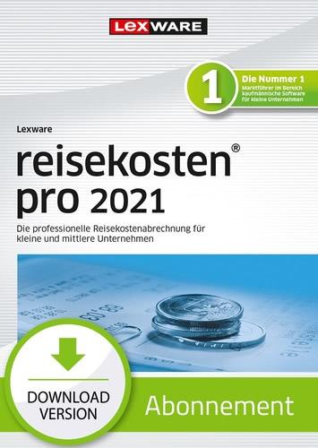 Verpackung von Lexware reisekosten pro 2021 - Abo Version [PC-Software]