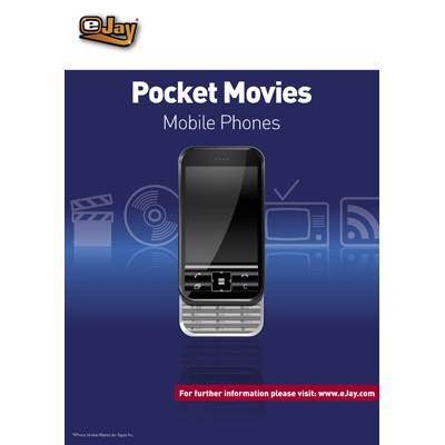 Verpackung von eJay Pocket Movies für Mobile Phones [PC-Software]