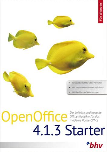 Verpackung von OpenOffice 4.1.3 Starter [PC-Software]