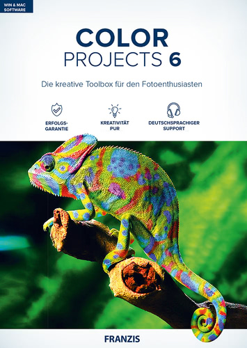 Verpackung von Franzis COLOR Projects 6 [MULTIPLATFORM]