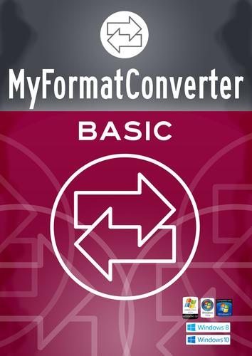 Verpackung von MyFormatConverter Basic [PC-Software]