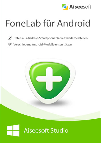 Verpackung von FoneLab - Android Data Recovery - Lebenslage Lizenz [PC-Software]