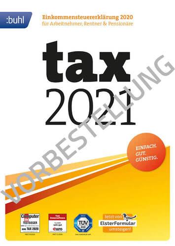 Verpackung von tax 2022 (für Steuerjahr 2021) [PC-Software]