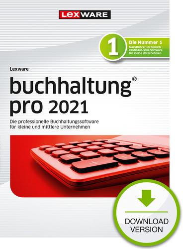Verpackung von Lexware buchhaltung pro 2021 - Jahresversion (365 Tage) [PC-Software]