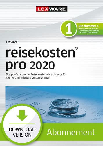 Verpackung von Lexware reisekosten pro 2020 - Abo-Version [PC-Software]