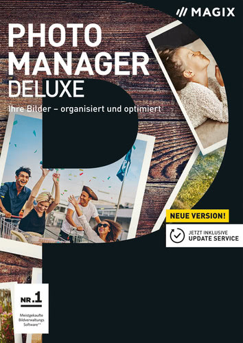 Verpackung von Magix Photo Manager 17 Deluxe [PC-Software]