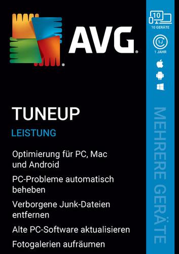 Verpackung von AVG TuneUp (Mehrere Geräte) [MULTIPLATFORM]