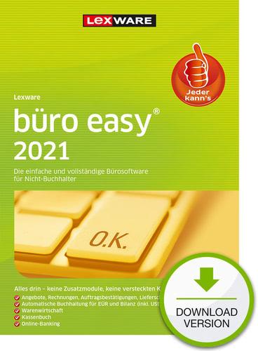 Lexware büro easy 2021 – Jahresversion (365 Tage) (Download), PC