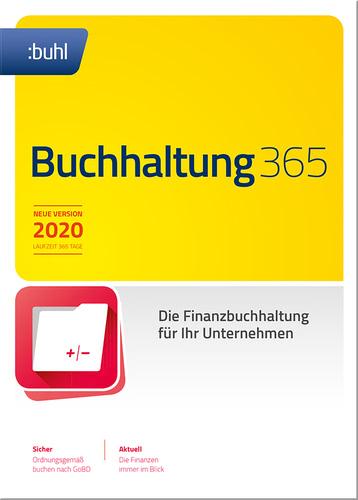 Verpackung von WISO Buchhaltung 365 [PC-Software]