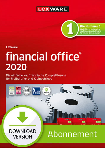 Lexware financial office 2020 – Abo-Version (Download), PC