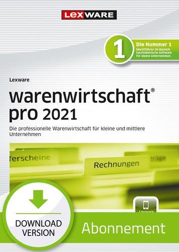 Verpackung von Lexware warenwirtschaft pro 2021 Testversion [PC-Software]