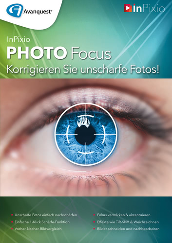 Verpackung von InPixio Photo Focus [PC-Software]