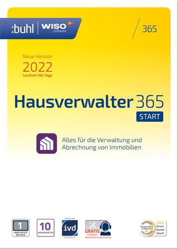 Verpackung von WISO Hausverwalter 365 Start (Version 2022) [PC-Software]