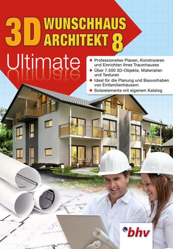 Verpackung von 3D Wunschhaus Architekt 8 Ultimate [PC-Software]