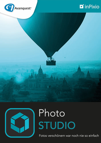 Verpackung von inPixio Photo Studio 10 - 1 PC / 1 Jahr [PC-Software]