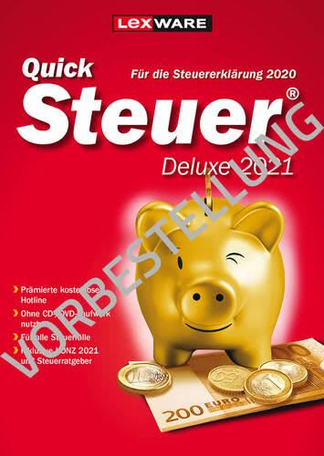 Verpackung von QuickSteuer Deluxe 2022 (für Steuerjahr 2021) - Vorbestellung [PC-Software]