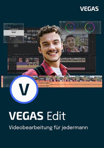 Verpackung von Vegas Edit 19 [PC-Software]