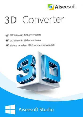 Verpackung von Aiseesoft 3D Converter für PC [PC-Software]