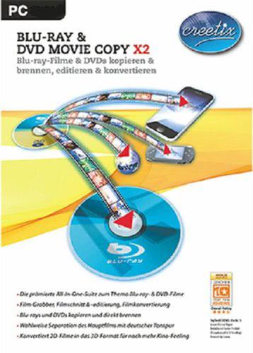 Verpackung von Creetix Blu-ray und DVD Copy X2 [PC-Software]