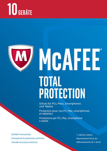 Total Protection 2017, 10 Geräte / 12 Monate (Box), Multi